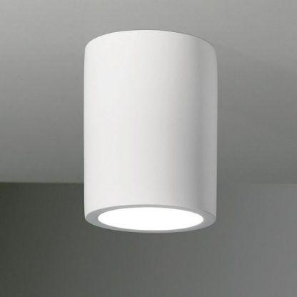 spotlight biała tuba sufitowa