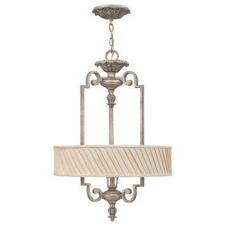 srebrna lampa wisząca pałacowy styl klasyczna