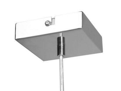 srebrna podsufitka do lampy