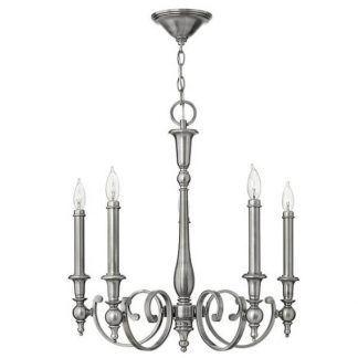 srebrny żyrandol świecznikowy klasyczny