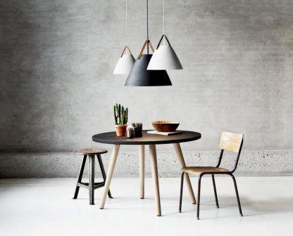 strap lampy wiszące nad stół matowe