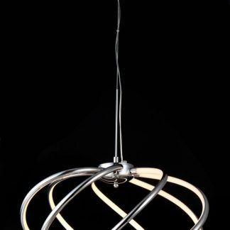 Świecące spiralne lampy wiszącej Venus