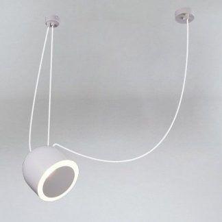 szara lampa pająk z białymi kablami