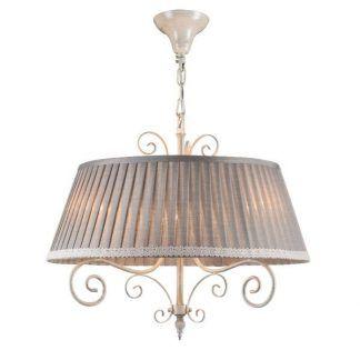 szara lampa wisząca do kuchni vintage