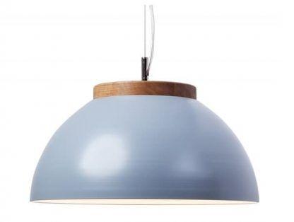 szaro niebieska lampa wisząca nowoczesna