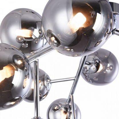 Szklane kule lampy sufitowej Dallas