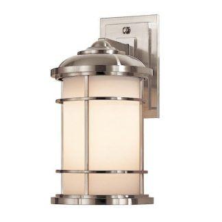 szklany kinkiet z kloszem w kształcie tuby - srebrny