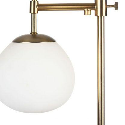 Szklany klosz lampy stołowej Erich