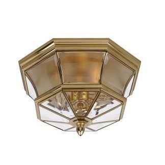 szklany plafon art deco złoty do przedpokoju