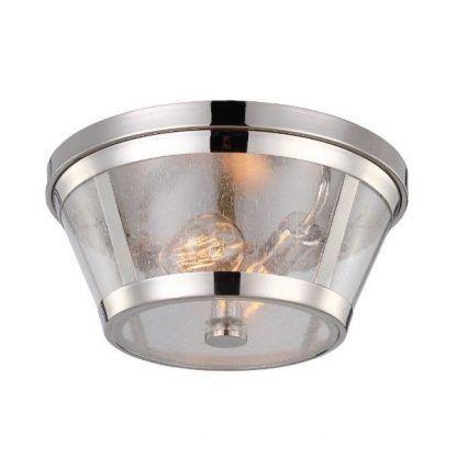 szklany plafon w stylu hampton - srebro masywne