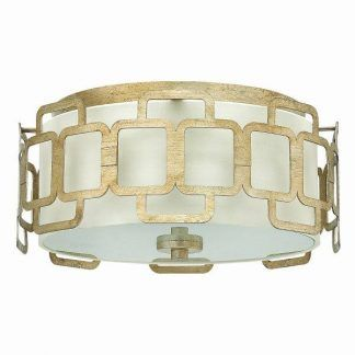 szklany plafon w złotej oprawie klasyczny