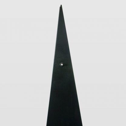 trójkątna lampa podłogowa ze stali do loftów