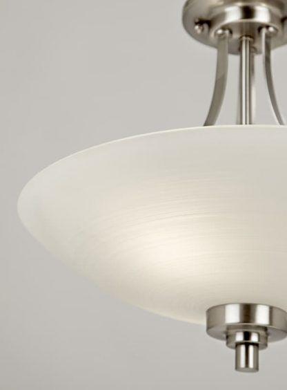 welles lampa sufitowa z szerokim kloszem