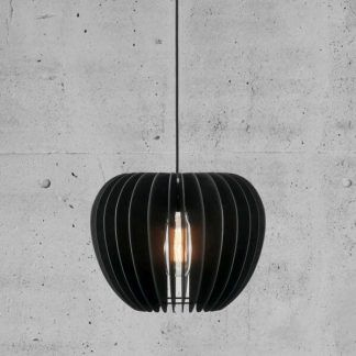 Wisząca lampa w stylu skandynawskim do sypialni
