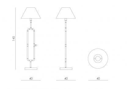 wymiary lampy 3664842