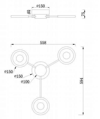 wymiary lampy 5184