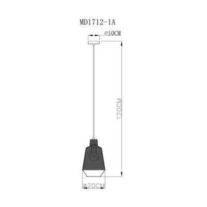 wymiary lampy 52447