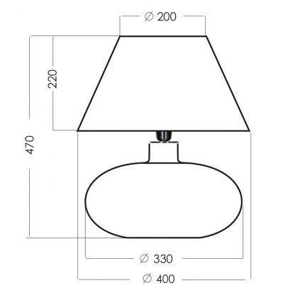 wymiary lampy 68742542
