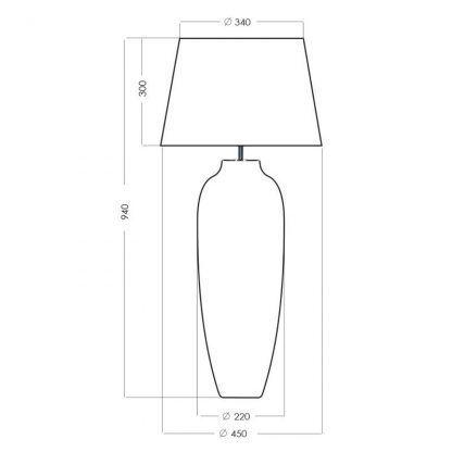 wymiary lampy 7111122222222