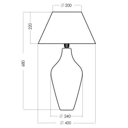 wymiary lampy 816432546
