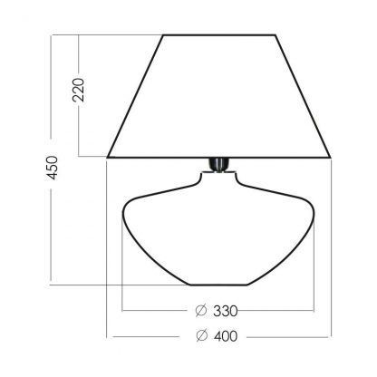 wymiary lampy 818424328284