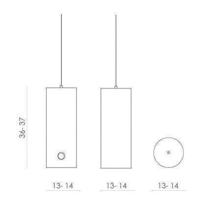 wymiary lampy wiszącej 23432
