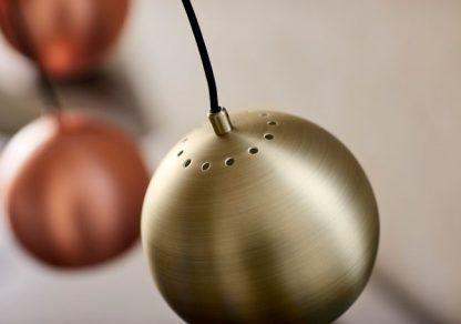 Wysokiej jakości lampa wisząca w kształcie kuli