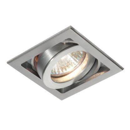 xeno srebrne regulowane oczko sufitowe