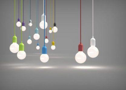 zawieszenie do lampy różne kolory