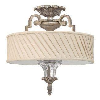 Zdobiona podstawa lampy ze szklanymi elementami jasny abażur