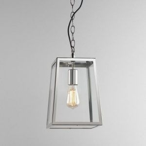 zewnętrzna lampa nowoczesna do ganku lub na schody