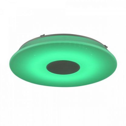 zielona fajna lampa sufitowa - designerska do pokoju