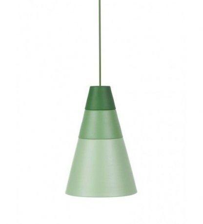 zielona lampa wisząca do pokoju dziecięcego