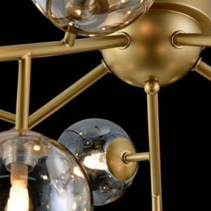 złote zdobienie żyrandola 4353