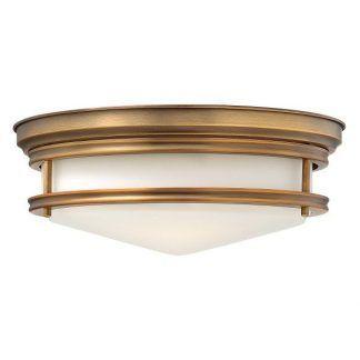 złoty plafon do korytarza lub kuchni - szklany klosz