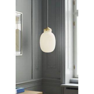 Lampa wisząca Raito do jasnego salonu