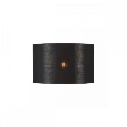 czarna lampa - abażur elegancki