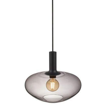 lampa wisząca z przyciemnianym szkłem