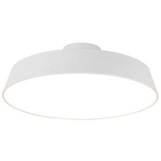 biały bardzo nowoczesny i gustowny plafon