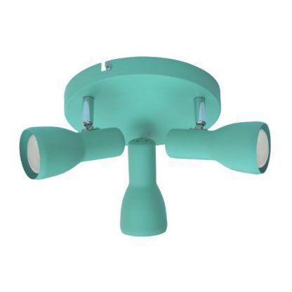 błękitna lampa sufitowa dziecięca
