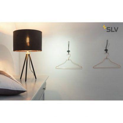 lampa stojąca do sypialni na szafkę - nowoczesna