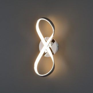 Dekoracyjny kinkiet Infinity do sypialni