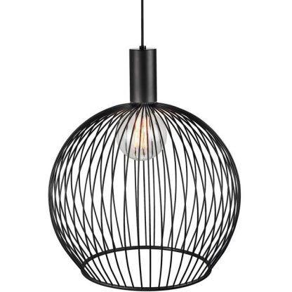 druciak czarny - lampa wisząca
