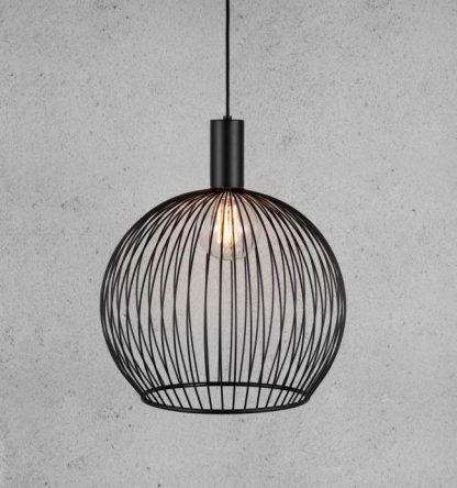 druciak - lampa wisząca nowoczesna okrągła