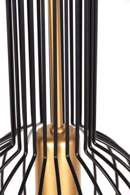 druciany klosz do lampy złoty środek