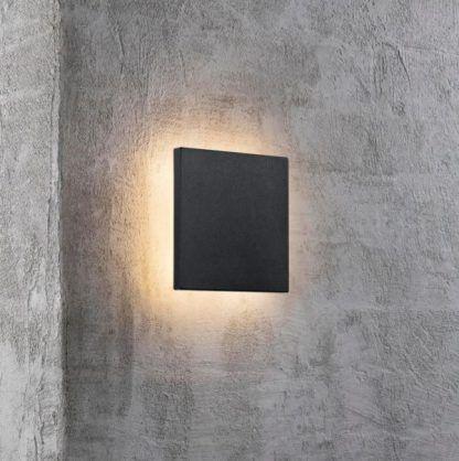 Kinkiet Artego Square jako oświetlenie balkonu