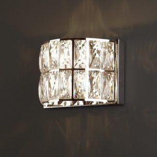 Kinkiet Diamante na elegancki korytarz