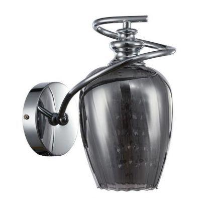 kinkiet ze srebra - szkło