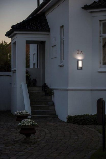 oświetlenie numeru domu