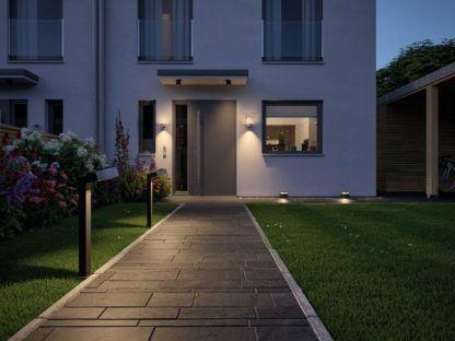oświetlenie drzwi wejściowych nowoczesne